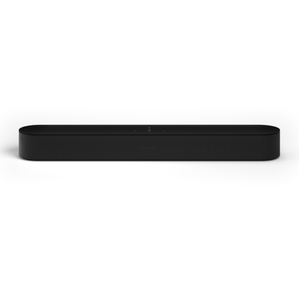 Sonos-Beam-Black-Front-View-Griffin-Video-AV
